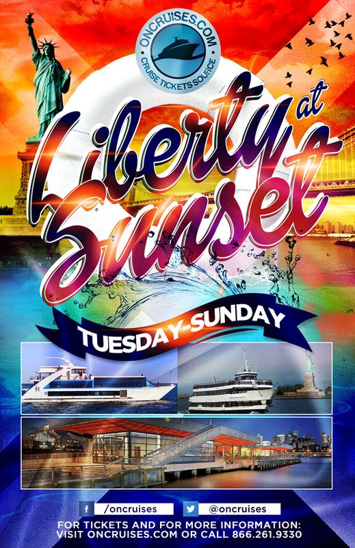 Liberty at Sunset Cruise - Sundays