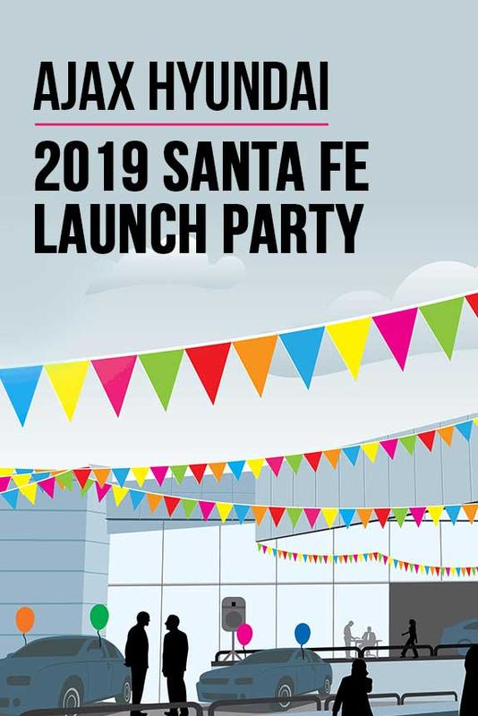 Ajax Hyundai 2019 Santa Fe Launch Party