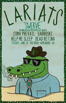 Lariats Vinyl Release Party