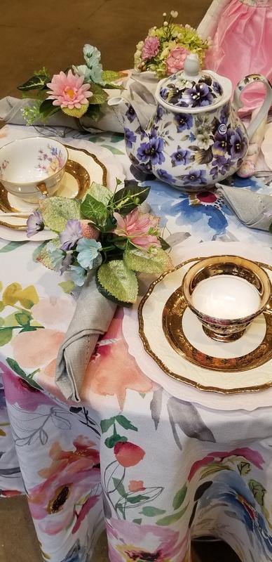 Easter Tea Party at the Bourse
