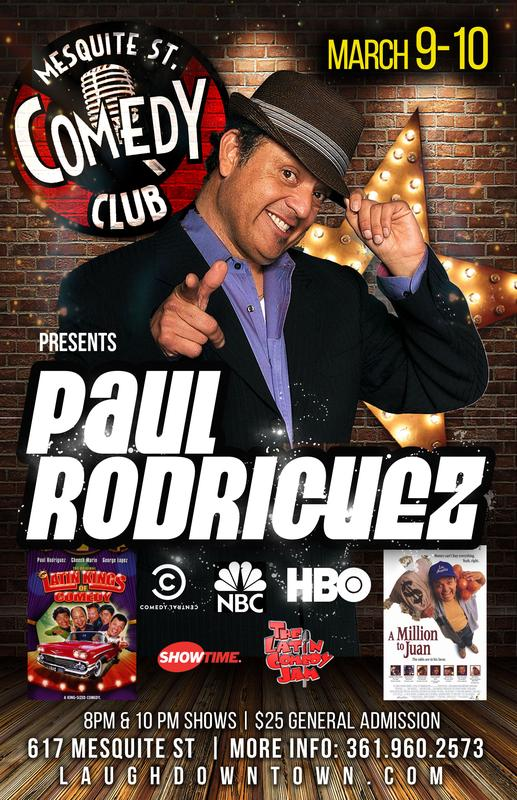 Paul Rodriguez The Original Latin King of Comedy LIVE!