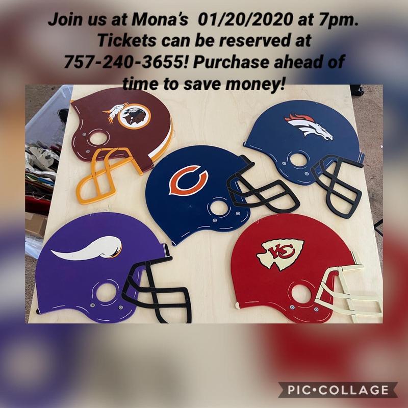 Mona's Football Lovers-Wooden Helmet