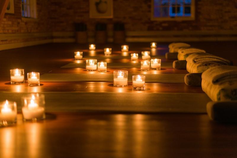 Silent Night Yoga