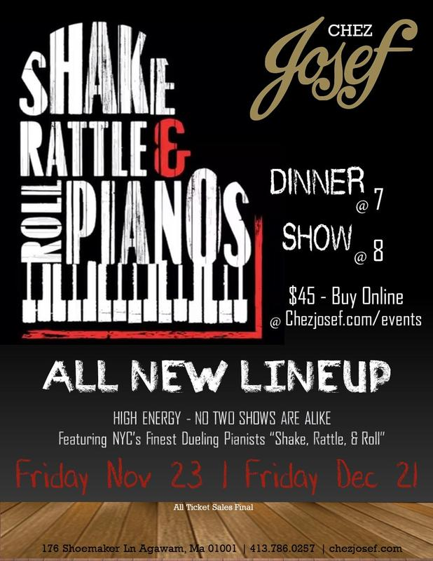 Dueling Pianos Shows