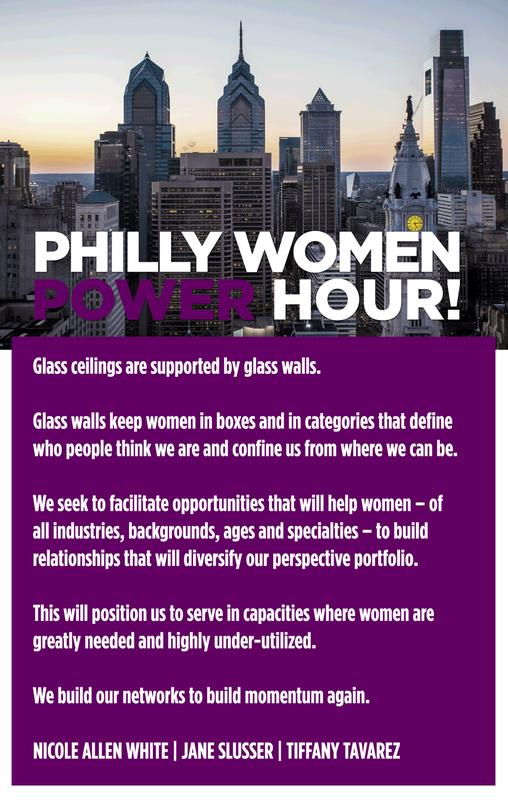 Philly Power Women: Holiday Glass Wall Series