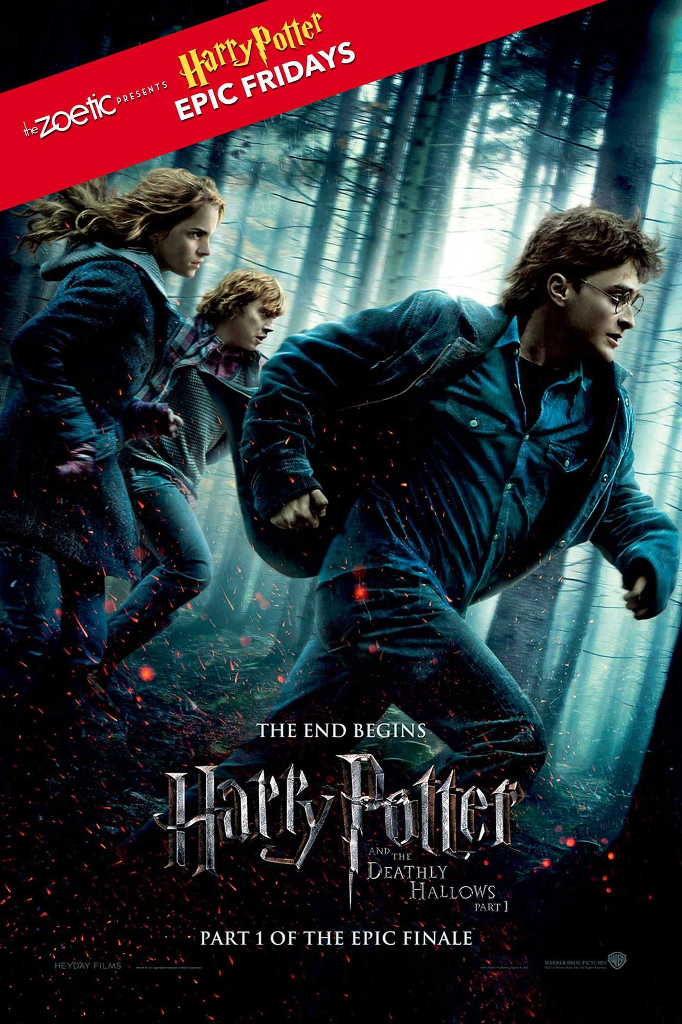 Harry Potter Epic Fridays Harry Potter And The Deathly
