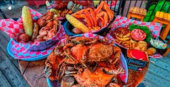 Baltimore Crabfeast at Phillips Seafood Restaurant with a Narrated Harbor Cruise
