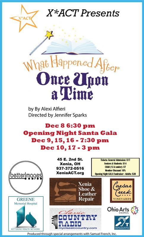 """X*ACT presents """"What Happened After Once Upon a Time"""" directed by Jennifer Sparks"""