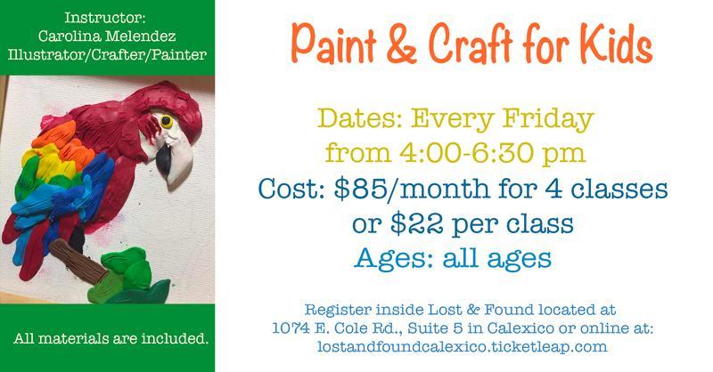 Paint and Craft Membership