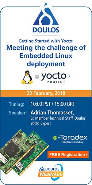 Webinar: Getting Started with Yocto - Meeting the challenge of Embedded Linux deployment