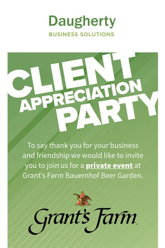 Daugherty Business Solutions Client Appreciation Party 2018