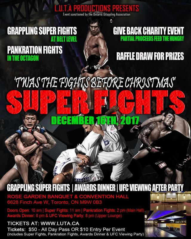 Charity Superfights