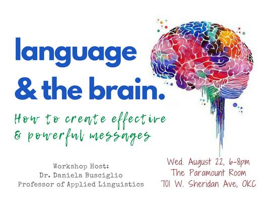 Language & The Brain: How to Create Effective and Powerful Messages