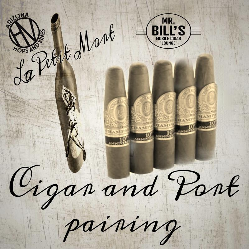 Cigar and Port  pairing