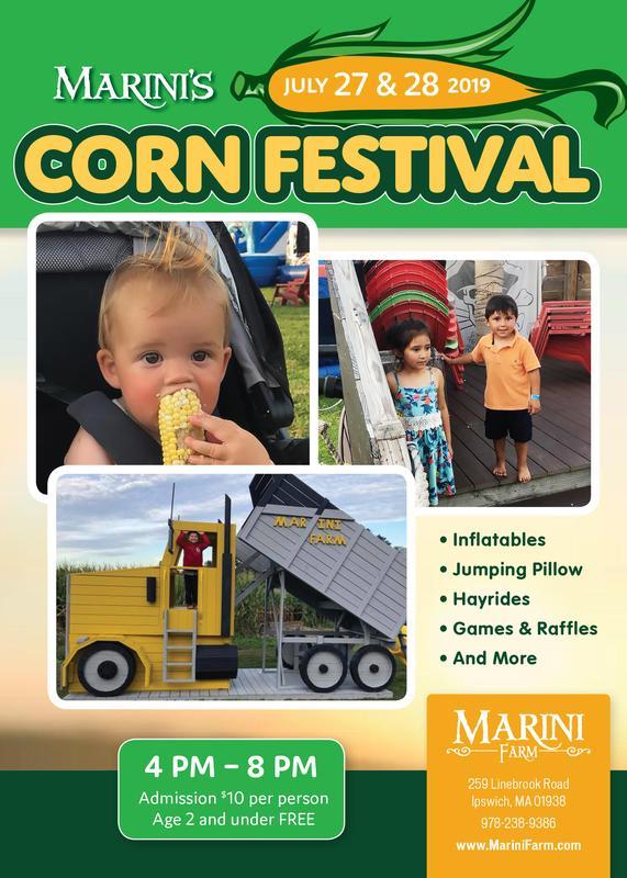 2019 Corn Festival at Marini Farm, Ipswich MA