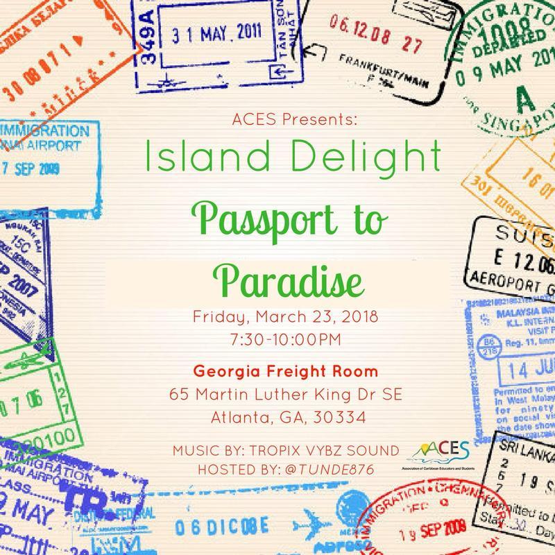 ACES presents Island Delight!