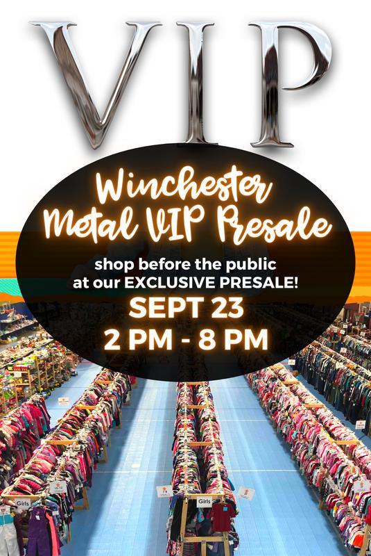 Winchester Metal VIP Presale