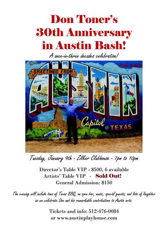 Don Toner's 30th Anniversary in Austin Bash!