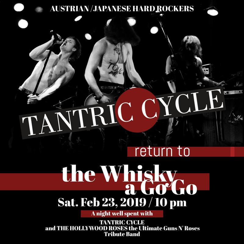 Tantric Cycle & Hollywood Roses live at the Whisky a Go Go