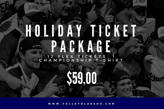Blue Sox Holiday Ticket Packages