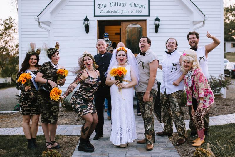 Daisy's Redneck Wedding