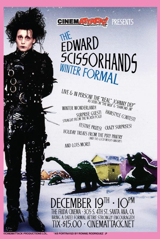 CinemAttack! presents THE EDWARD SCISSORHANDS WINTER FORMAL