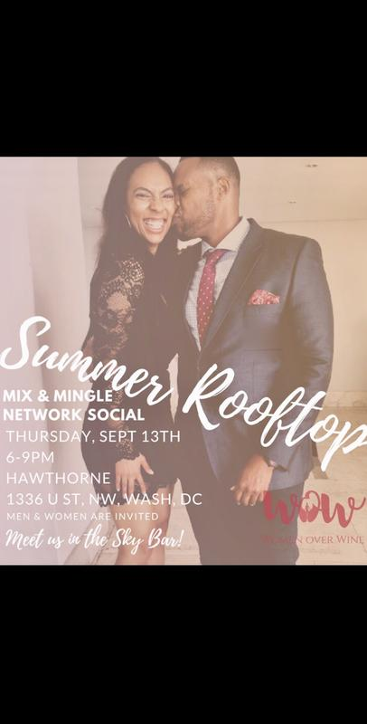 Women Over Wine Summer Rooftop Social