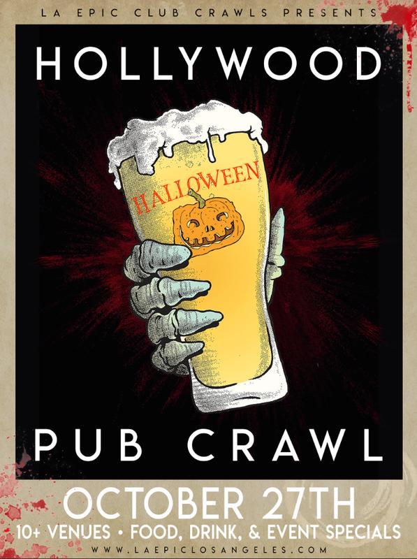 Hollywood Halloween Pub Crawl - Day Crawl