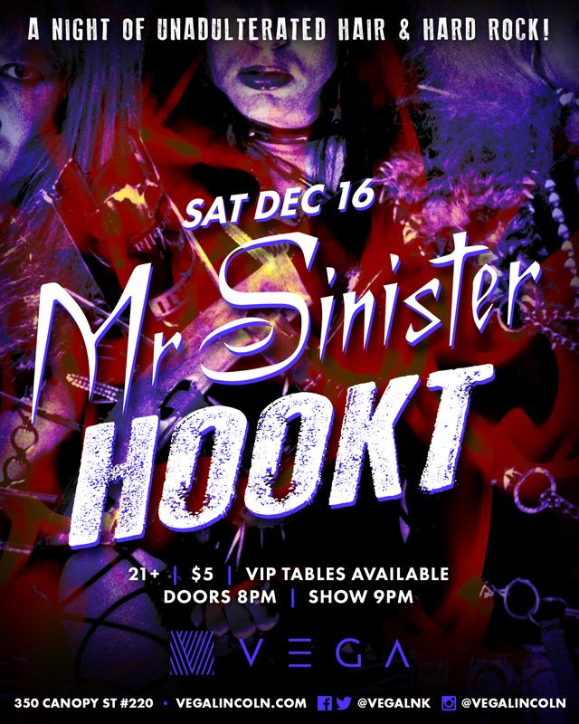 Mr. Sinister with Hookt at Vega!