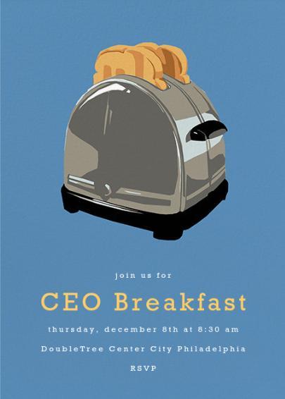 CEO Breakfast 2016