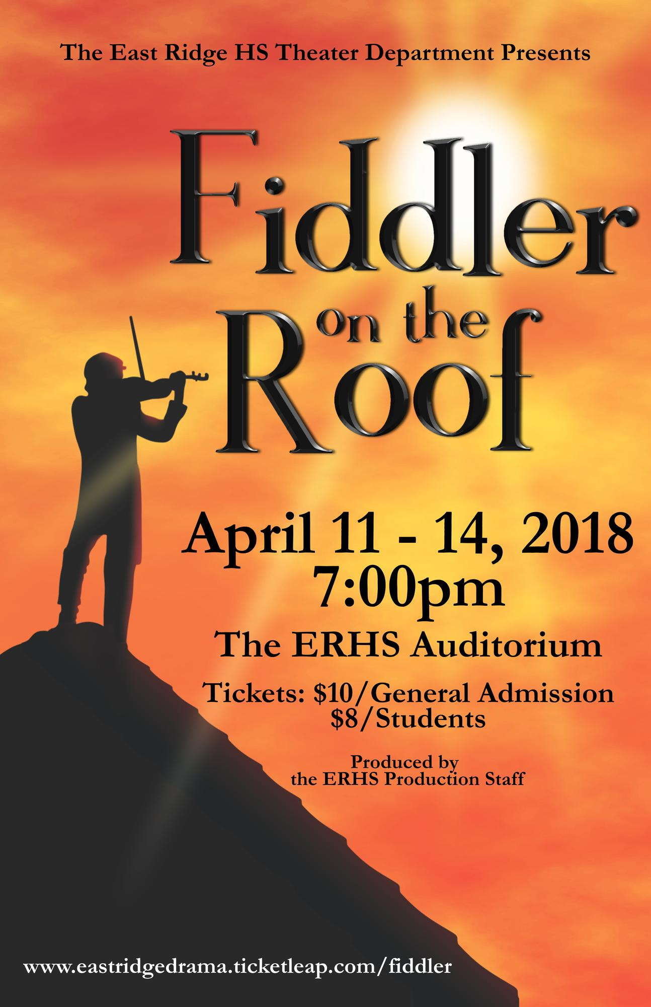 East Ridge High School Theater Department Tickets