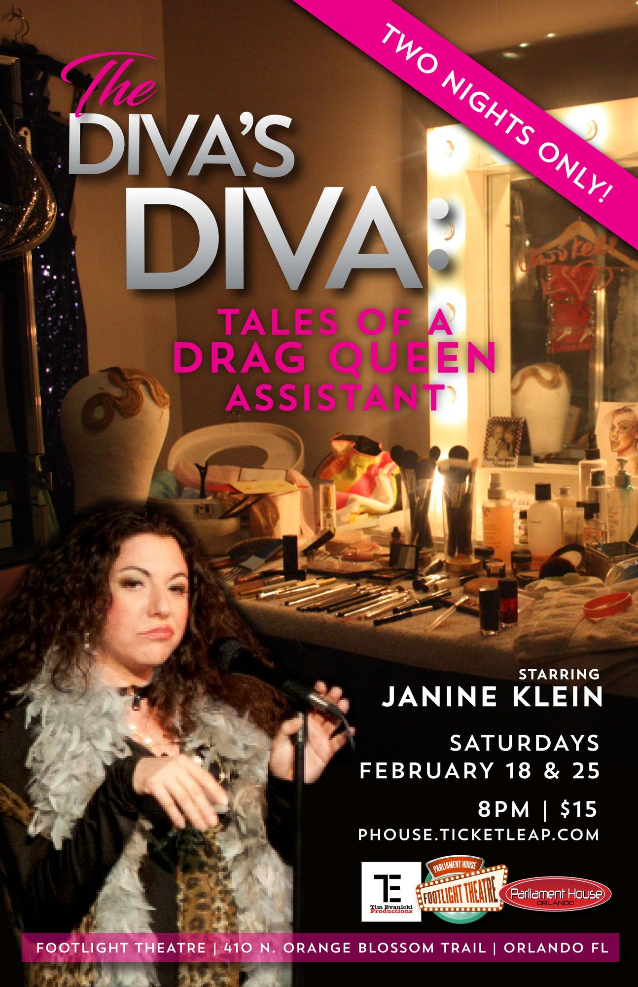 Janine Klein is The Divas Diva Tales of a Drag Queen Assistant