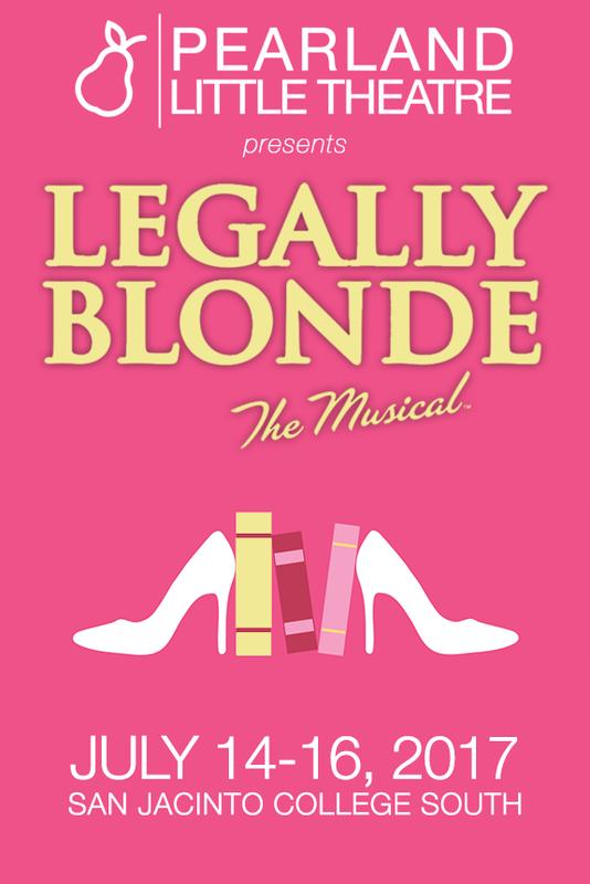 Pearland Little Theatre presents Legally Blonde: The Musical