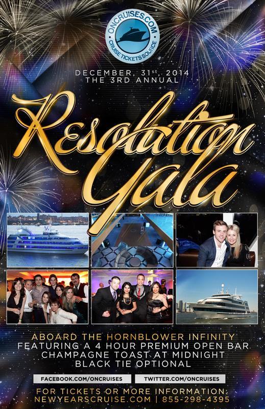 The 3rd Annual Resolution Gala Aboard the Infinity Yacht
