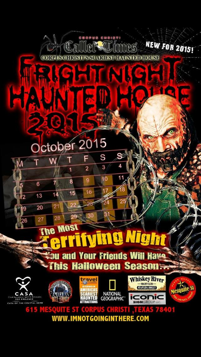 Fright night corpus christi