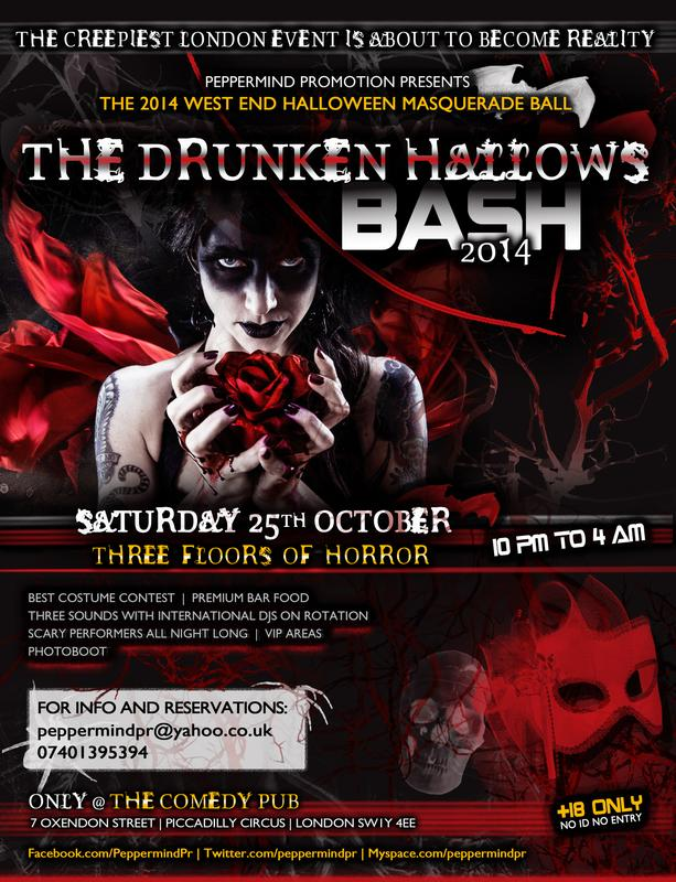 THE DRUNKEN HALLOWS BASH 2014