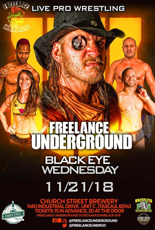 Black Eye Wednesday - Live Pro Wrestling