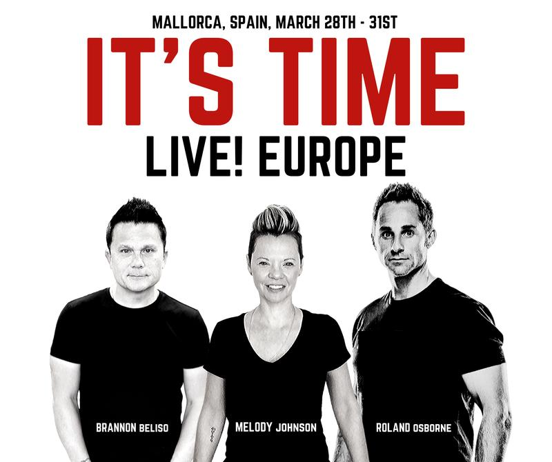It's Time LIVE! Europe