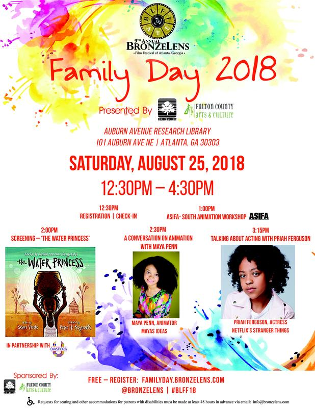 BLFF18:  Family Day at BronzeLens