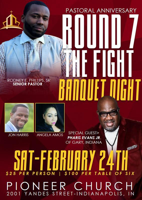 """Round 7 """"Pastoral Anniversary Banquet"""""""