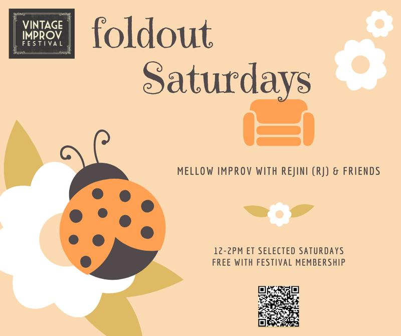 Foldout Saturdays with Rejini Samuel  and Friends