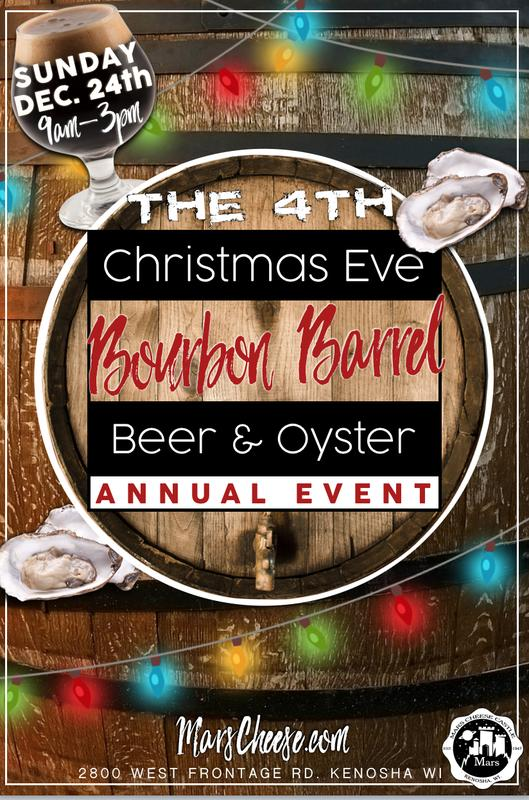 4th Christmas Eve Bourbon Barrel Beer & Oyster Annual Event