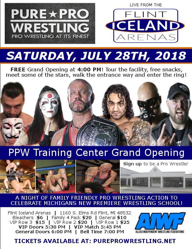 PPW Live: Flint Iceland Arenas (PPW Training Center Grand
