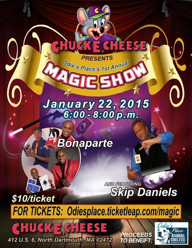 Odies Place Magic Show
