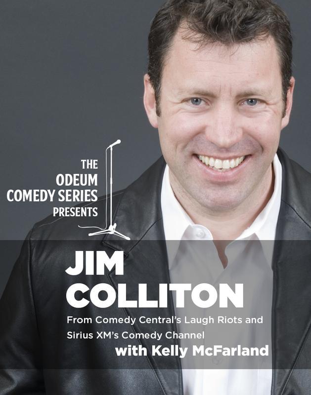 Odeum Comedy Series > Jim Colliton