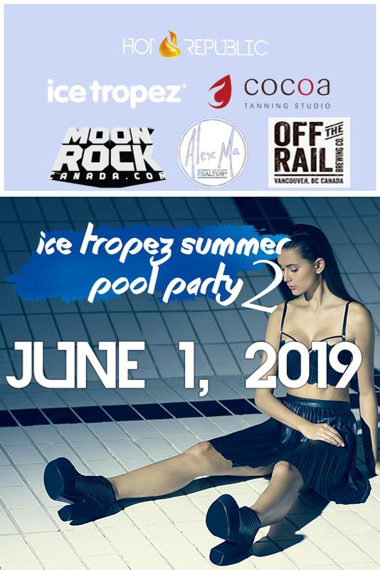 Ice Tropez Summer Pool Party 2.0