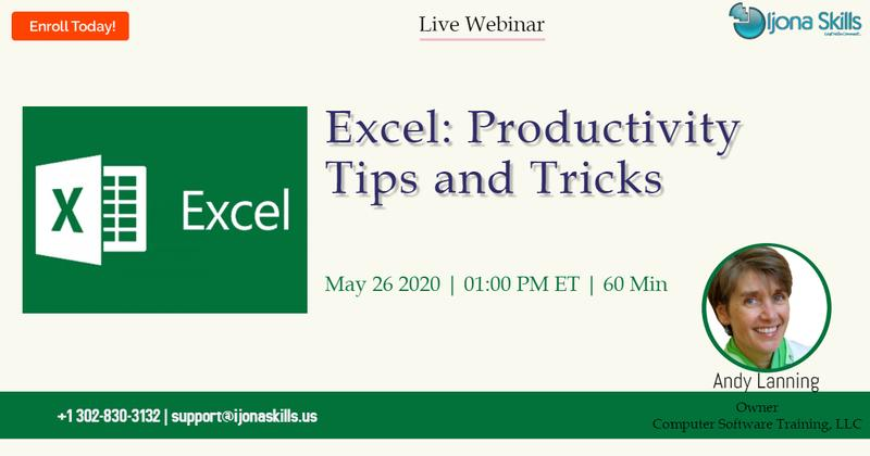 Excel: Productivity Tips and Tricks