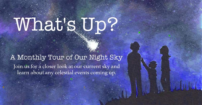 What's Up? A Monthly Night Sky Tour