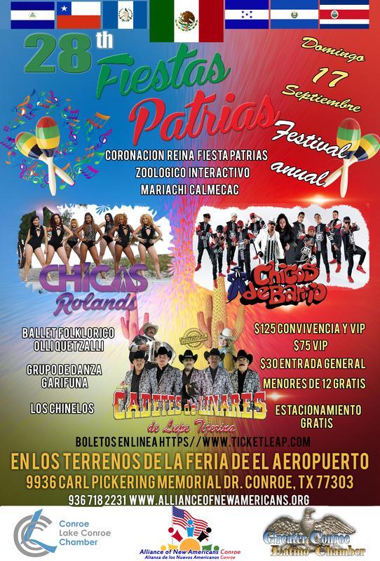 28 th Festival Fiestas Patrias Conroe 2017