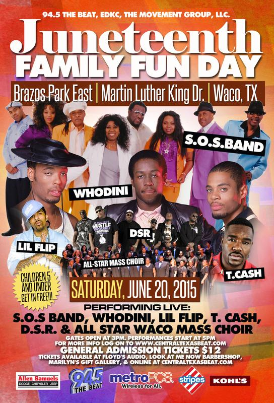 Juneteenth Family Fun Day 2015
